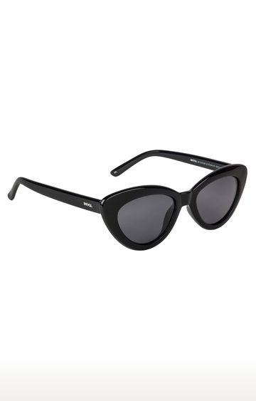 Invu | Cat-eye Sunglass with Grey Lens
