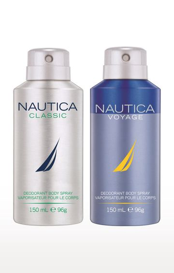 Nautica | Classic and Voyage Deo Combo Set of 2