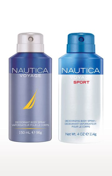 Nautica | Voyage and Voyagesport Deo Combo Set of 2