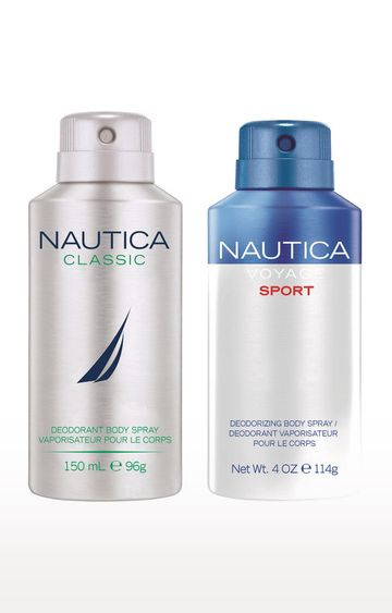 Nautica | Voyagesport and Classic Deo Combo Set of 2