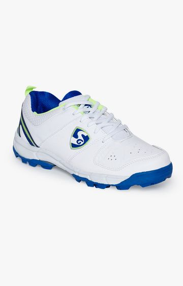 SG | Blue and White Cricket Shoes