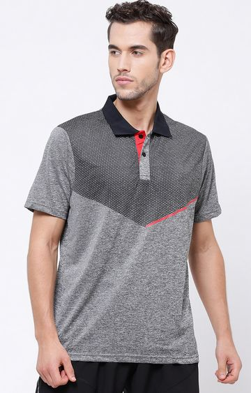 SG | Grey Melange Polo T-Shirt