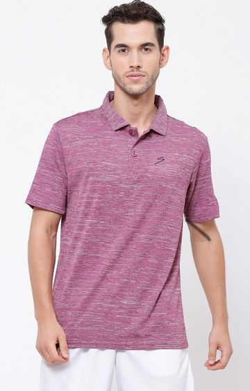 SG | Wine Melange Polo T-Shirt