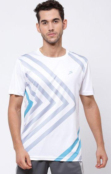 SG | White Striped T-Shirt