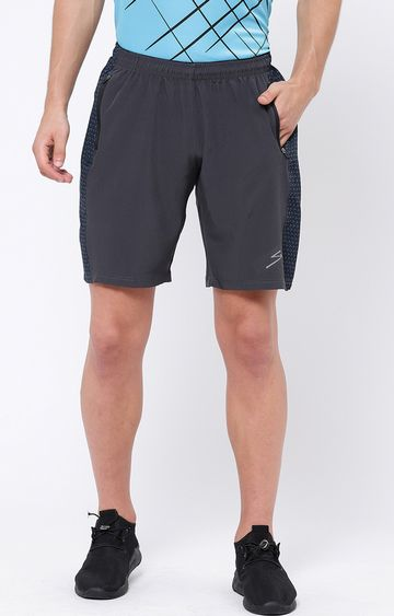 SG | Grey Printed Shorts