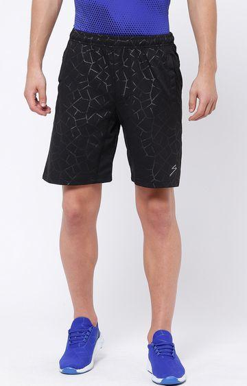 SG | Black Printed Shorts