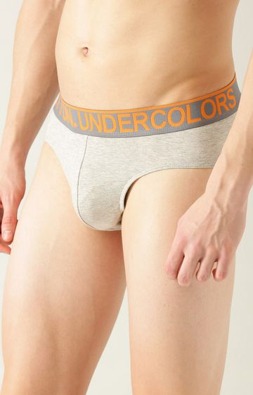 Undercolors of Benetton | Grey Melange Briefs
