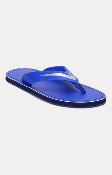 Nike | Blue Flip Flops