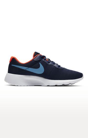 Nike   Blue Tanjun Sports Shoes