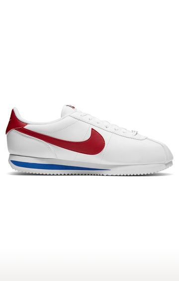 Nike | White Casual Cortez Basic Lace-ups