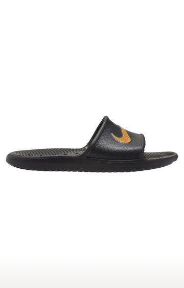 Nike | Black Kawa Shower Slide Flip Flops