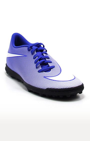 Nike   Blue Bravatax Football Shoes