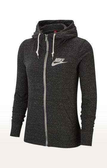 Nike | Nike Grey Melange Vintage Activewear Jacket