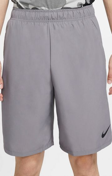 Nike | Grey Solid Shorts