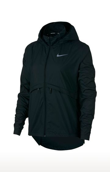 Nike | Black Solid Essential Activewear Jacket