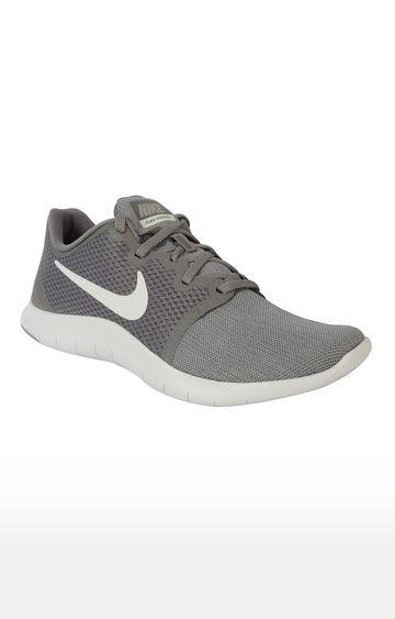 Nike   Nike Grey Flex Contact 2 Running Shoes