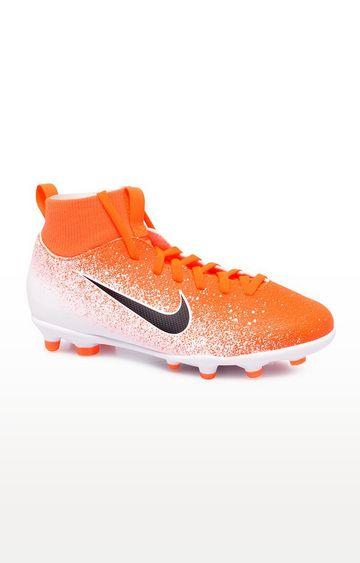 Nike | Orange Jr Superfly 6 Club MG Multi Ground Football Shoe