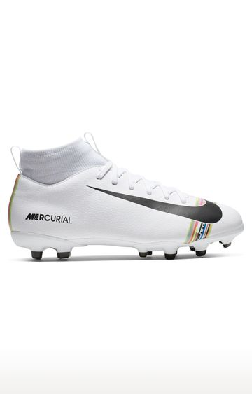 Nike   White Global Football Shoes