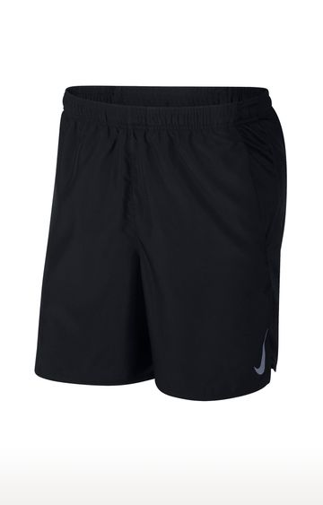 Nike | Black Solid Challenger Shorts
