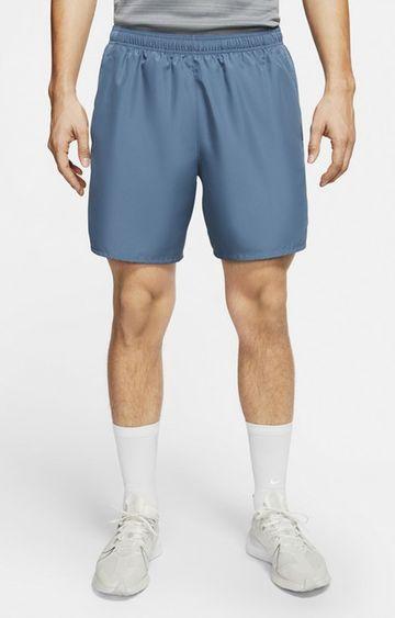 Nike | Nike Blue Solid Chllgr Shorts