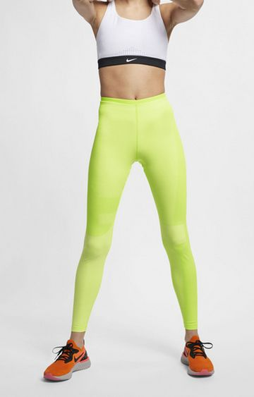 Nike | Yellow Nike Tech Sportswear Tights
