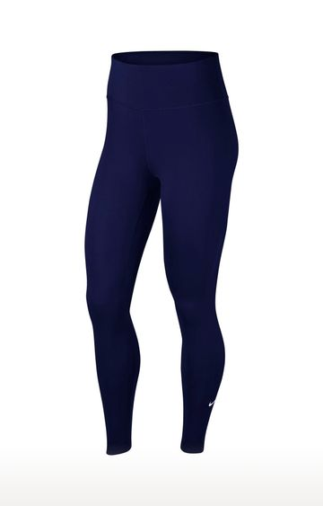 Nike | Blue Solid One Tights