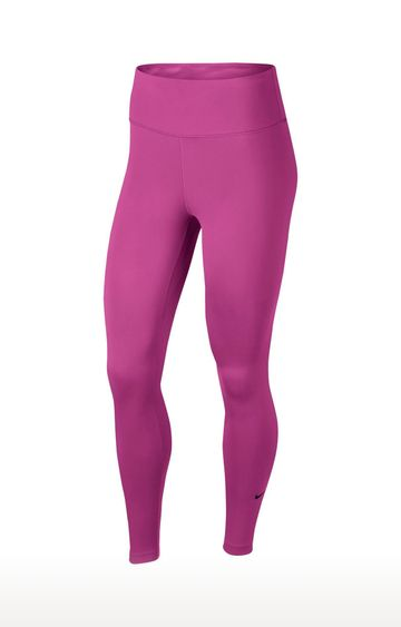 Nike | Pink Solid One Tights