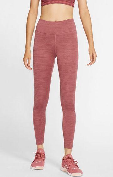 Nike | Nike Red Melange One Tights