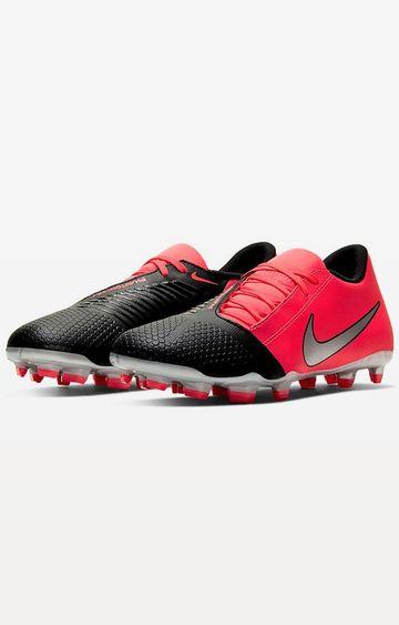 Nike | Nike Red and Black Phantom Venom Club Fg Football Shoes