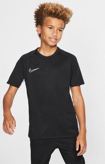 Nike   Black Solid Dri-Fit Academy T-Shirt