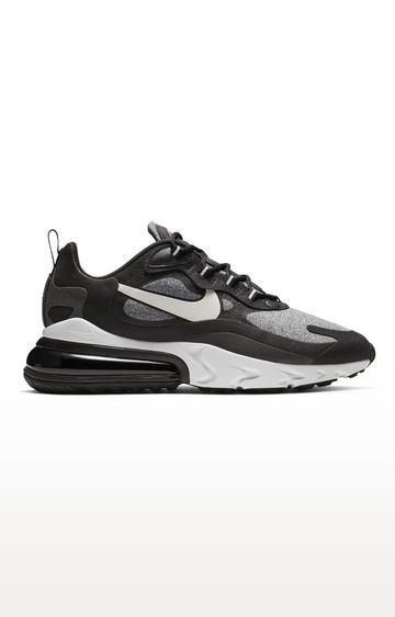 Nike | Black Air Max 270 React Op Art Sports Shoes