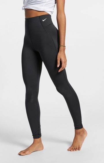Nike | Black Solid Victory Tights