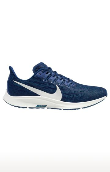 Nike | Nike Blue Air Zoom Pegasus 36 Running Shoes