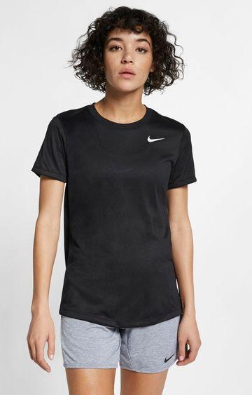 Nike | Nike Black Solid Dri-Fit Legend T-Shirt