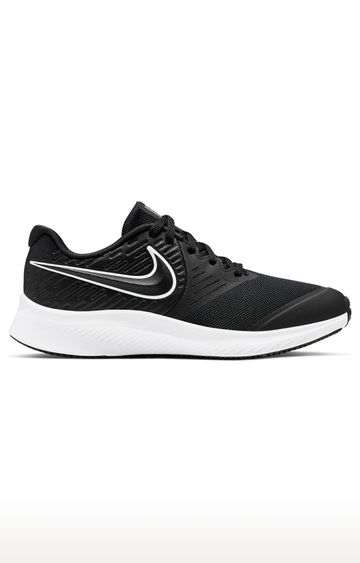 Nike | Black Unisex Star Runner 2 Running Shoes