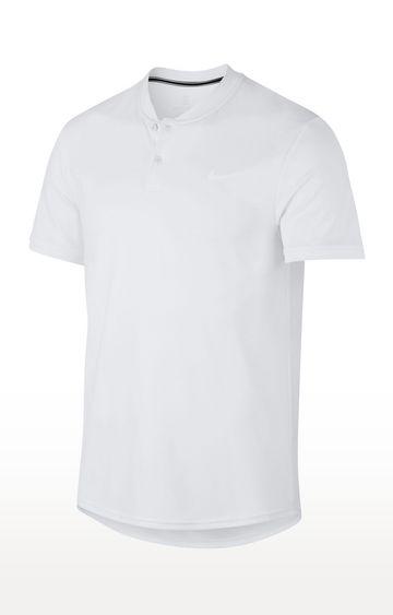 Nike | White Nike Court Dry Polos