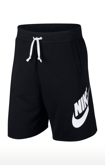Nike | Black Printed Shorts