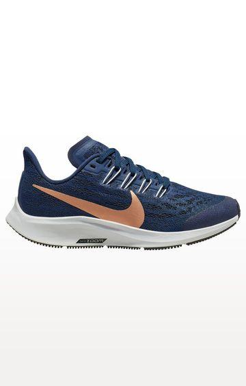 Nike   Blue Air Zoom Pegasus 36 Running Shoes
