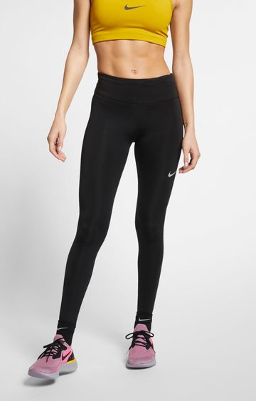 Nike | Black Solid Tights