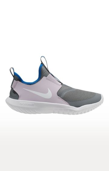 Nike | Grey and Pink Flex Running Shoes