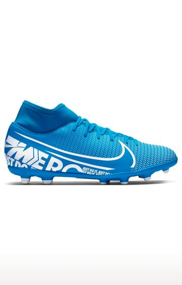 Nike | Nike Blue Unisex Mercurial Superfly 7 Club Mg Sports Shoes