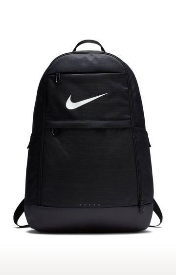 Nike | Black Unisex Brasilia Backpack