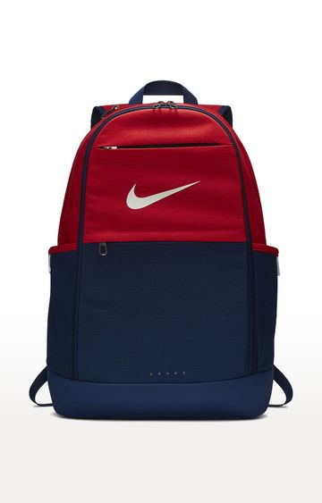 Nike | Navy and Red Backpack