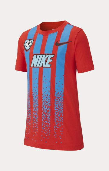 Nike | Red Printed T-Shirt