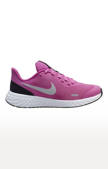 Nike | Nike Pink Revolution 5 Outdoor Sports Shoes