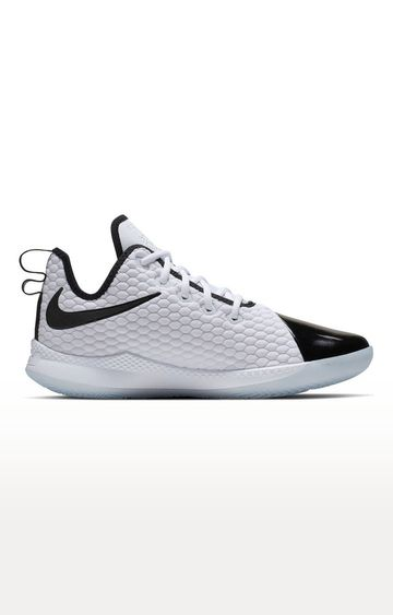 Nike | White LeBron Witness 3 PRM Basketball Shoes