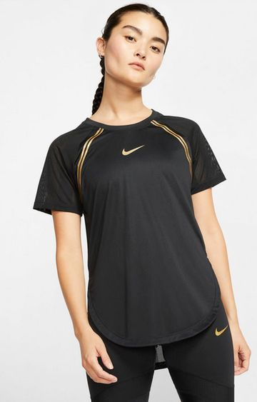Nike | Black Solid Nike T-Shirt