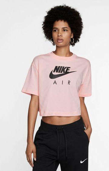 Nike | Pink Printed Air Crop Top