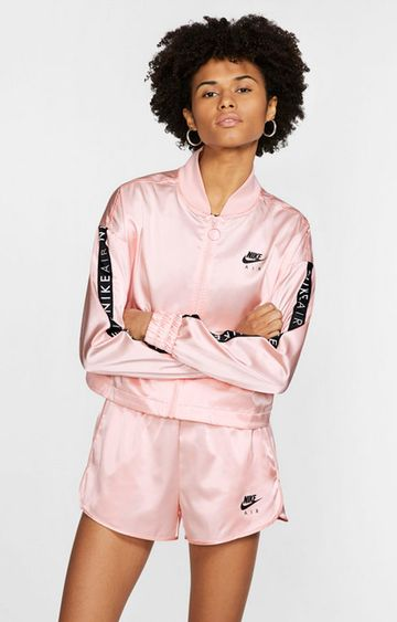 Nike | Pink Solid Air Activewear Jacket