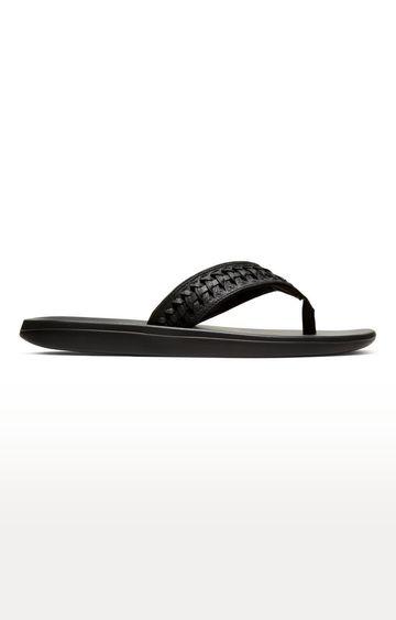 Nike | Black Kepa Kai 2 Lea Flip Flops